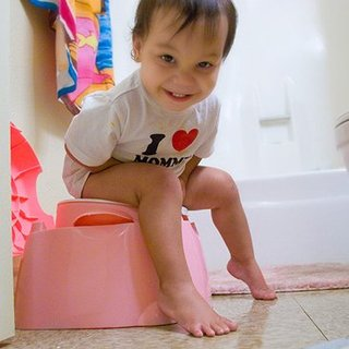 Potty Training Pictures Posted on Facebook