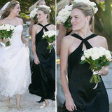 10 Chic Black Bridesmaid Gowns Inspired by Kate Bosworth