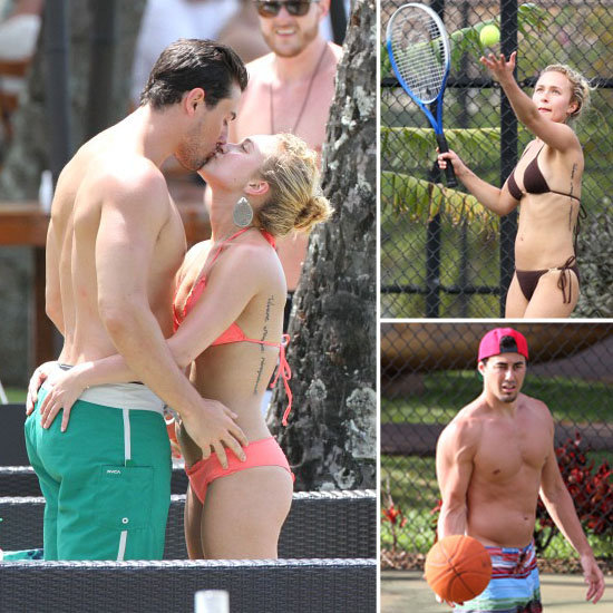 Hayden Panettiere Sports a Bikini and Cozies Up to Her Boyfriend in Hawaii