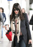 Celebrity Lookbook: Printed Scarves