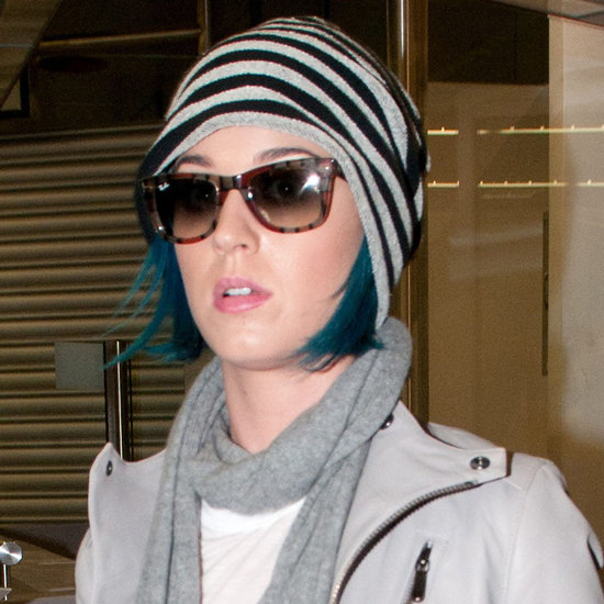 Katy Perry patterned sunglasses