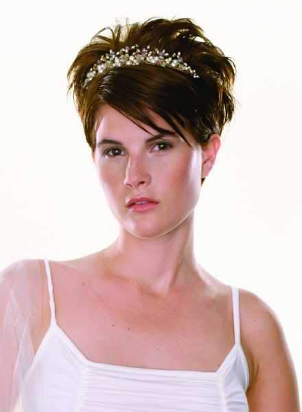 Short Hair Styles For Weddings A
