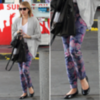 Emma Roberts Floral Jeans