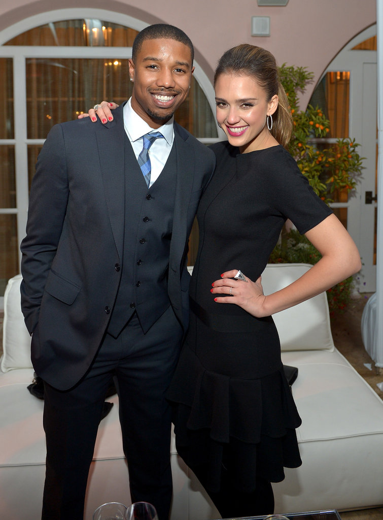 Jessica Alba Hits the Town For Condé Nast Traveler's Hot List Party