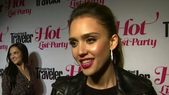 "Video: Jessica Alba Heads to Tokyo With Honor and Haven — ""It's Stressful!"""