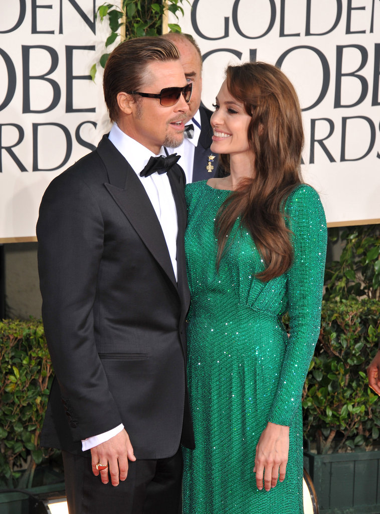 Brad and Angelina sparkled at the January 2011 Golden Globes.