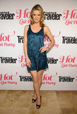 Missi Pyle wore a blue silk dress to the Condé Nast Traveler Hot List Party in LA.
