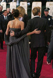 Brad and Angelina arrived together at the 2007 Golden Globe Awards in LA.