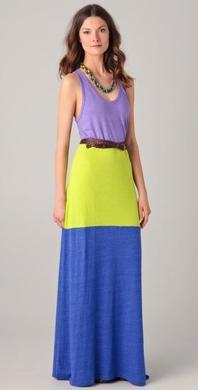 Colourblock Maxi
