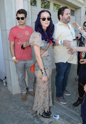 Katy Perry checked out the Lacoste event in 2012.