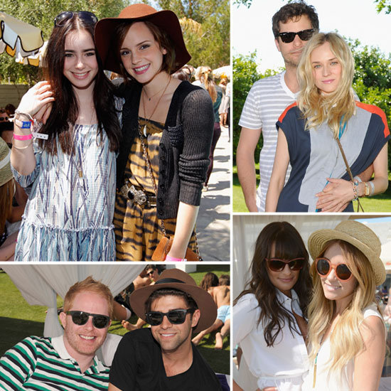Emma, Diane, Josh, Lauren, and More Celebs Party Poolside at Coachella!