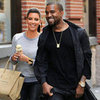 Kim Kardashian and Kanye West Pictures in NYC as Couple