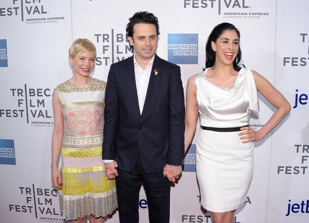 Michelle Williams, Luke Kirby and Sarah Silverman attended to the Tribeca Film Festival.