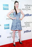 Coco Rocha posed on the red carpet at the Tribeca Film Festival.