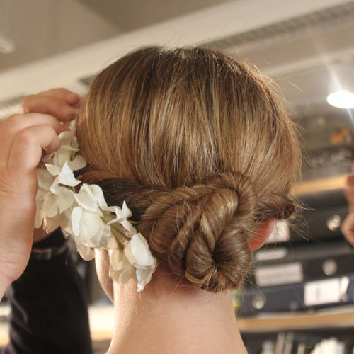 Badgley Mischka Bridal 2012 Hair Pictures