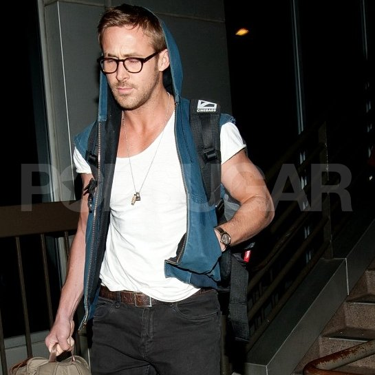 Ryan Gosling returned to LA.