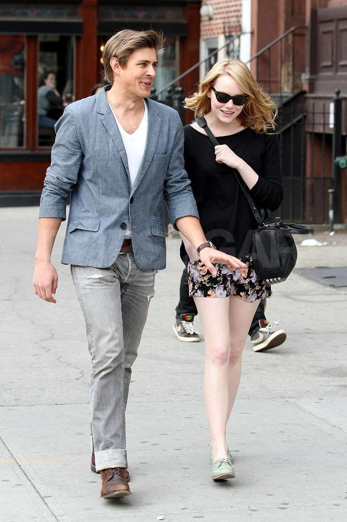 Emma Stone and a friend took a stroll around NYC.