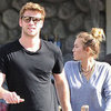 Miley Cyrus and Liam Hemsworth at Whole Foods Pictures