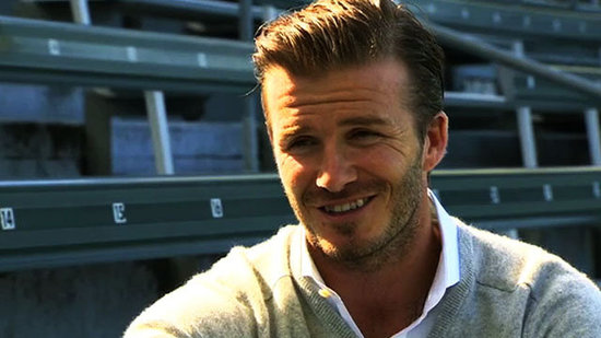 "Video: ""Proud"" David Beckham Can't Wait to Take His Kids to Olympics in His Hometown"