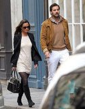 Pippa Middleton strolled Paris with Arthur de Soultrait.