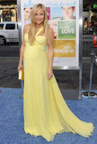 Kate Hudson in Canary Yellow