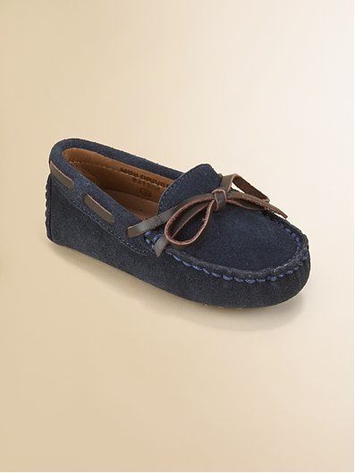 Cole Haan Infant&#039;s Suede Moccasin Drivers ($38)