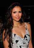 Nina Dobrev was stunning at Glamour magazine's party in West Hollywood.