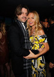 Rachel Zoe and her husband, Rodger Berman, looked cute together at Glamour's party in West Hollywood.