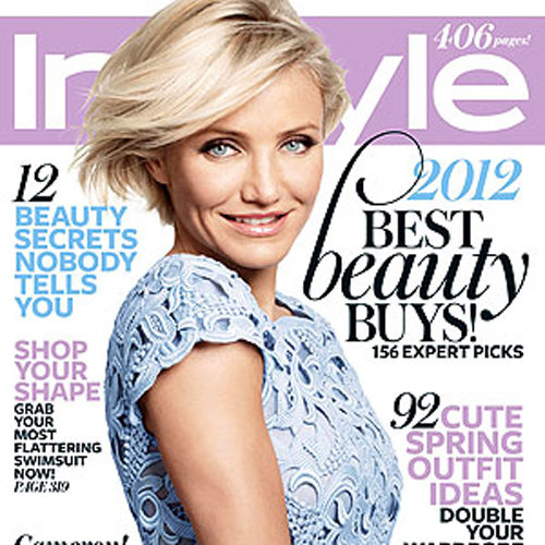 Cameron Diaz Cover of InStyle May 2012