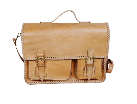 Handmade laptop bag ($159)