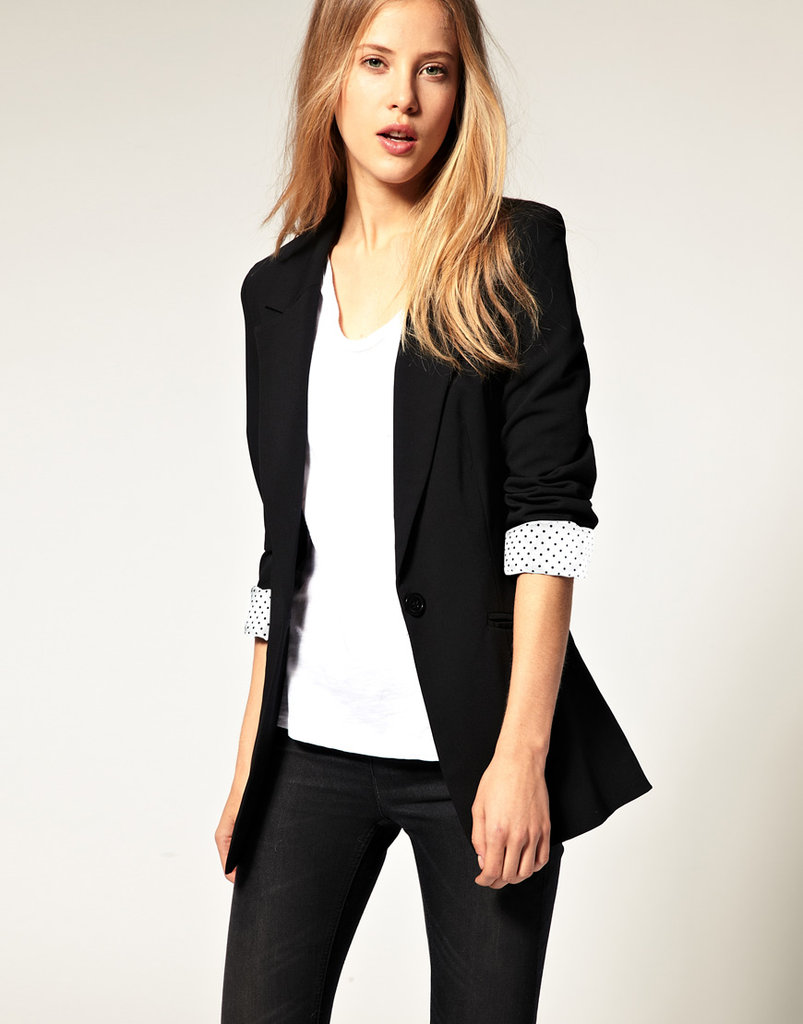 Maybe the most essential piece for perfecting the trend – throw this blazer over anything for an instant borrowed-from-the-boys cool.  ASOS Boyfriend Blazer ($100)