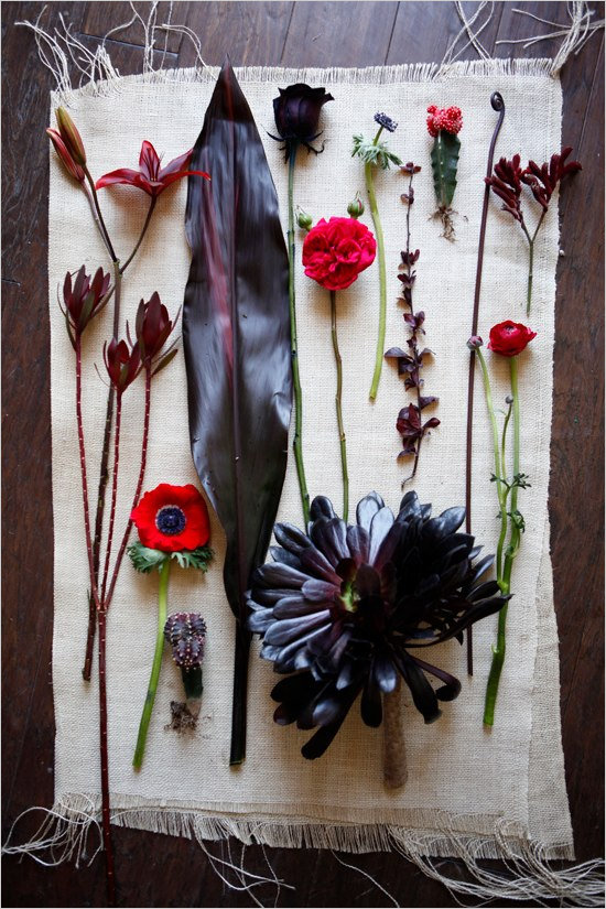 Victorian Flower Picks