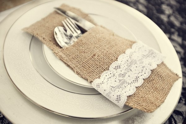 Lace Napkin Accent