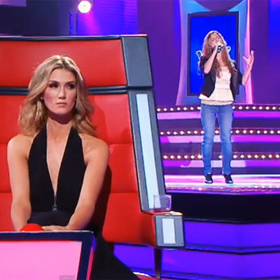 Watch Rachael Leahcar's Blind Audition Singing La Vie En Rose on The Voice Australia