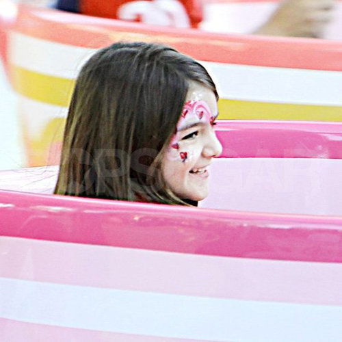 Suri Cruise Wearing Makeup