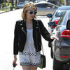 Celebrities in Leather Jackets