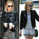 Leather vs. Suede: 15 Celebs Inspire a Search For the Perfect Moto Jacket