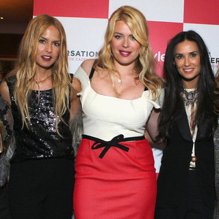 Rachel Zoe and Demi Moore Pictures at de Cadenet Launch
