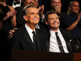 Dick Clark and Ryan Seacrest become close friends over the years, and the pair sat side by side during the June 2010 Daytime Entertainment Emmy Awards.