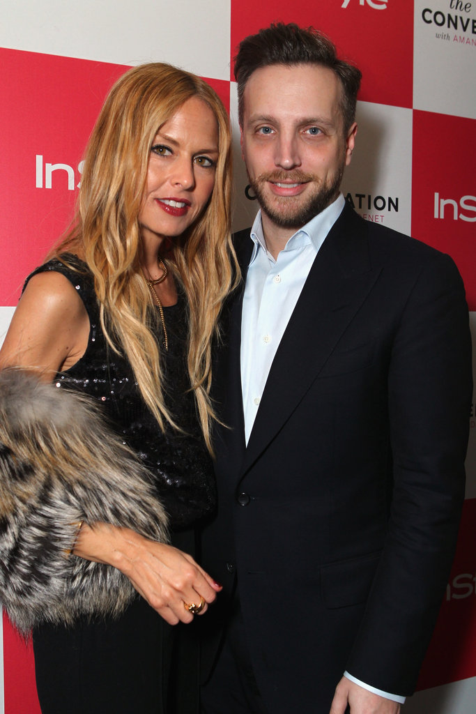 Rachel Zoe and Ariel Foxman celebrated Amanda de Cadenet's new show.