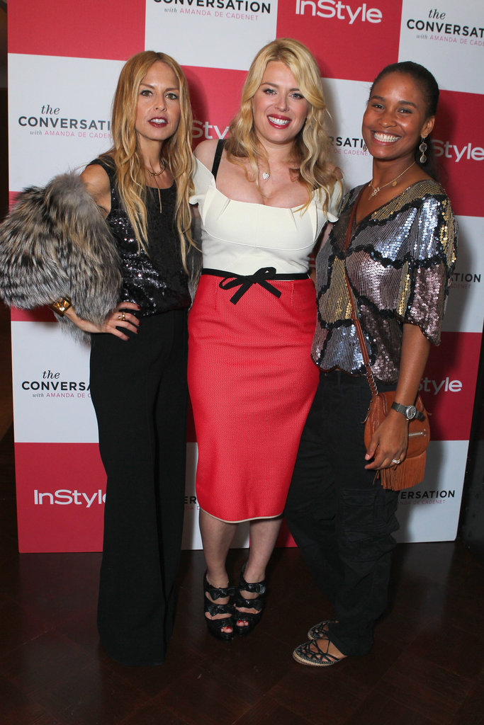 Joy Bryant and Rachel Zoe celebrated Amanda de Cadenet's new show.