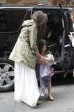 Katie Holmes Starts Suri Cruise's 6th Birthday in Manhattan