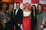 Joy Bryant, Rachel Zoe, Kelly Preston, Demi Moore, and Ariel Foxman celebrated Amanda de Cadenet's new show.