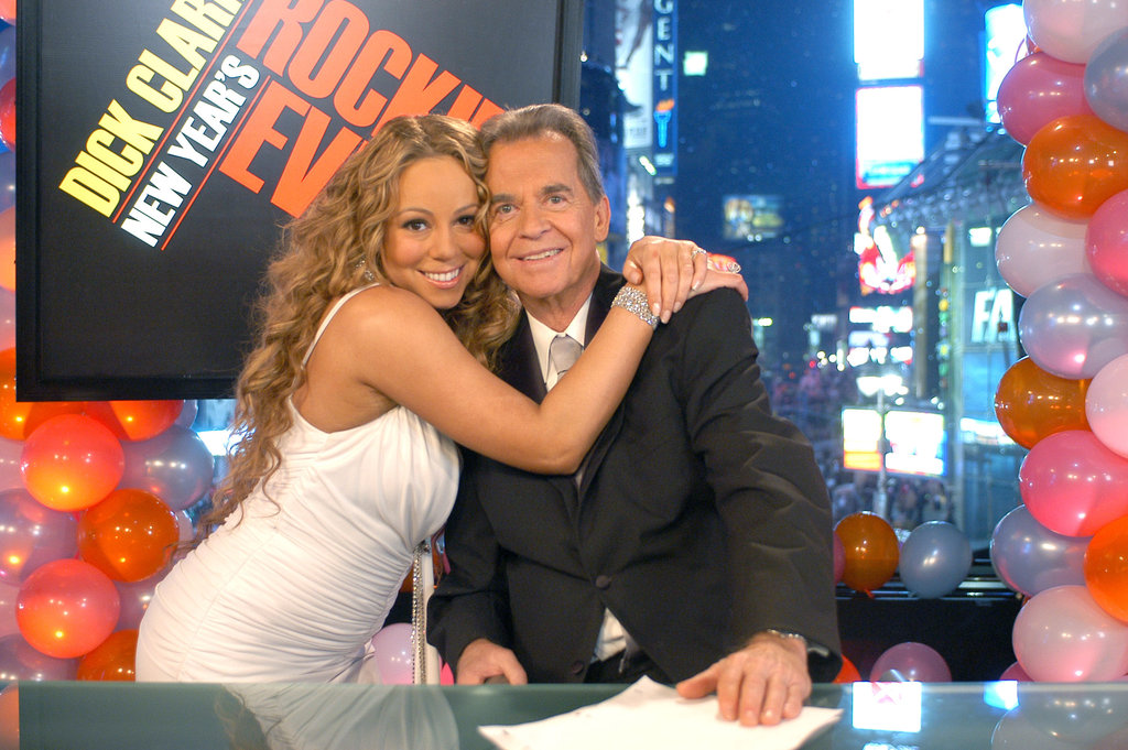 Mariah Carey stopped by Dick Clark's New Year's Rockin' Eve celebration in 2006.