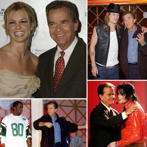 Dick Clark and Celebrity Friends Pictures