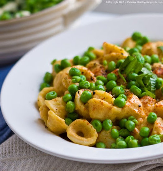 Cheese and Peas Pasta