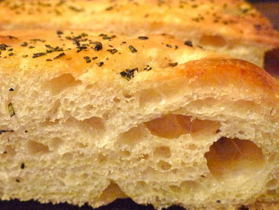 Rosemary & Sea Salt Focaccia by Zesty Baking