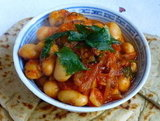 Butter Beans &amp; Fennel in Plum Tomato Sauce