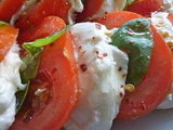 Kicking Insalata Caprese