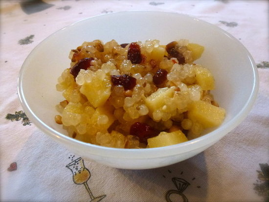 Cranberry Tapioca Pearls (Fruity Sabudana Khichadi) by Zesty Baking